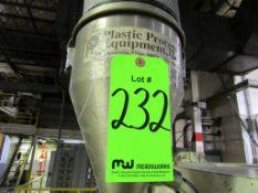 (1) Plastic Process Equipment Model LV-100S Vacuum Loader