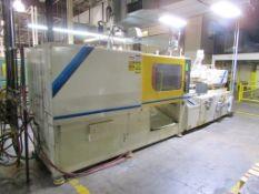(1) 1997 Mitsubishi 320MJ2-30G, 320 Ton Injection Molding Machine