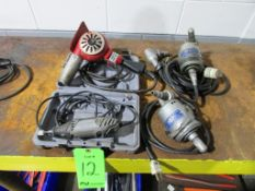 (3) Electric Rotary Tools