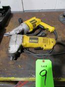 (2) DeWalt Electric Cutting Tools