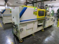 (1) 1996 Mitsubishi 90MJII-2.5, 90 Ton Injection Molding Machine