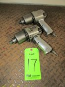 """(2) Ingersoll Rand 1/2"""" Drive Pneumatic Impact Wrenches"""