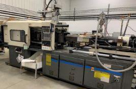 (1) 1992 Milacron 165 Ton Injection Molding Machine