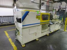 (1) 1997 Mitsubishi 90MJII-5, 90 Ton Injection Molding Machine