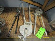 (3) Ridgid Manual Tube Benders
