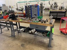 Work Bench with Vise (No Contents)