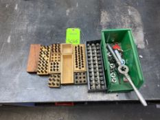 Lot of Assorted Punch Sets and Threader