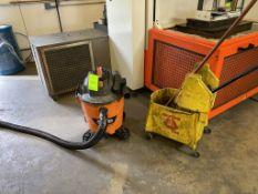 Rigid Shop Vacuum and Mop Bucket