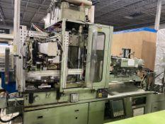 Nissei TD100R18ASE, 100 Ton Vertical Injection Molding Machine