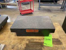 Brown & Sharpe Granite Surface Plate