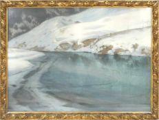 Hans Ritter von Petersen (1850-1914) - Schneeschmelze