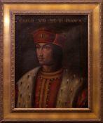 Unbekannt - Portrait Karl VIII. von Frankreich