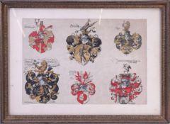 Ströhl, Gerhard Hugo: Heraldischer Atlas. Stuttgart 1899 Tafel XLI
