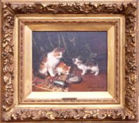 Brunel de Neuville, Alfred Arthur (1852-1941) - Drei Kätzchen