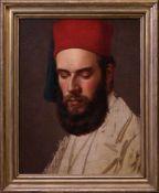 Unbekannt - Portrait eines Orientalen um 1900