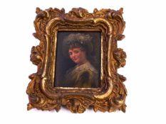 Niemann, Carl (19. Jhd.) - Portrait einer Dame