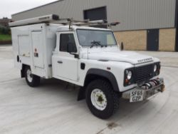 2015 LAND ROVER DEFENDER EXPEDITION VAN, RENAULT MINIBUS, MINIBUS, VANS, HIGH VALUE CARS & 4X4'S ENDS MONDAY FROM 7PM!