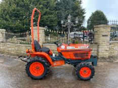 KUBOTA B1550 COMPACT TRACTOR, RUNS AND DRIVES, CLEAN MACHINE, CANOPY, FRONT WEIGHTS *NO VAT*