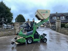 AMAZONE PROFIHOPPER 4WD. YEAR 2012, HIGH TIP COLLECTOR, IN GOOD CONDITION, RUNS, WORKS AND CUTS