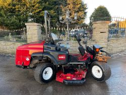 TORO GROUND MASTER 360 QUAD STEER MOWER, BELLE 450 FLOOR SAW, PREMIUM WOOD CHIPPER CARS VANS TRACTORS WATCHES TRAILERS ENDS Thursday From 7pm