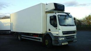 2012/12 REG DAF TRUCKS LF FA 55.220 6.7 DIESEL WHITE 4X2 DAY FRIDGE BOX LORRY *PLUS VAT*