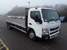 2014/14 REG MITSUBISHI FUSO CANTER 7C18 43 3.0 DIESEL AUTO, SHOWING 0 FORMER KEEPERS *PLUS VAT*
