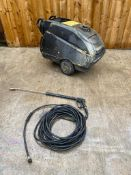 KARCHER DIESEL POWER WASHER HOT AND COLD, DELIVERY ANYWHERE UK £100 *PLUS VAT*