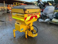 2014 VALE POZI-FEED MS350 GRITTER HYDRAULIC DRIVEN, SUITABLE FOR 3 POINT LINKAGE, GOOD CONDITION