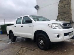 2011 TOYOTA HILUX HL2 D-4D 4X4 DCB, CHAINSAW, TAKEUCHI MINI DIGGER, 9CT GOLD CUBAN LINK BRACELET, YAMAHA R6 BIKE & MORE Ends WEDNESDAY FROM 7PM