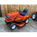 KUBOTA G1700 DIESEL RIDE ON MOWER, STARTS FIRST TIME, RUNS DRIVES AND CUTS VERY WELL *PLUS VAT*