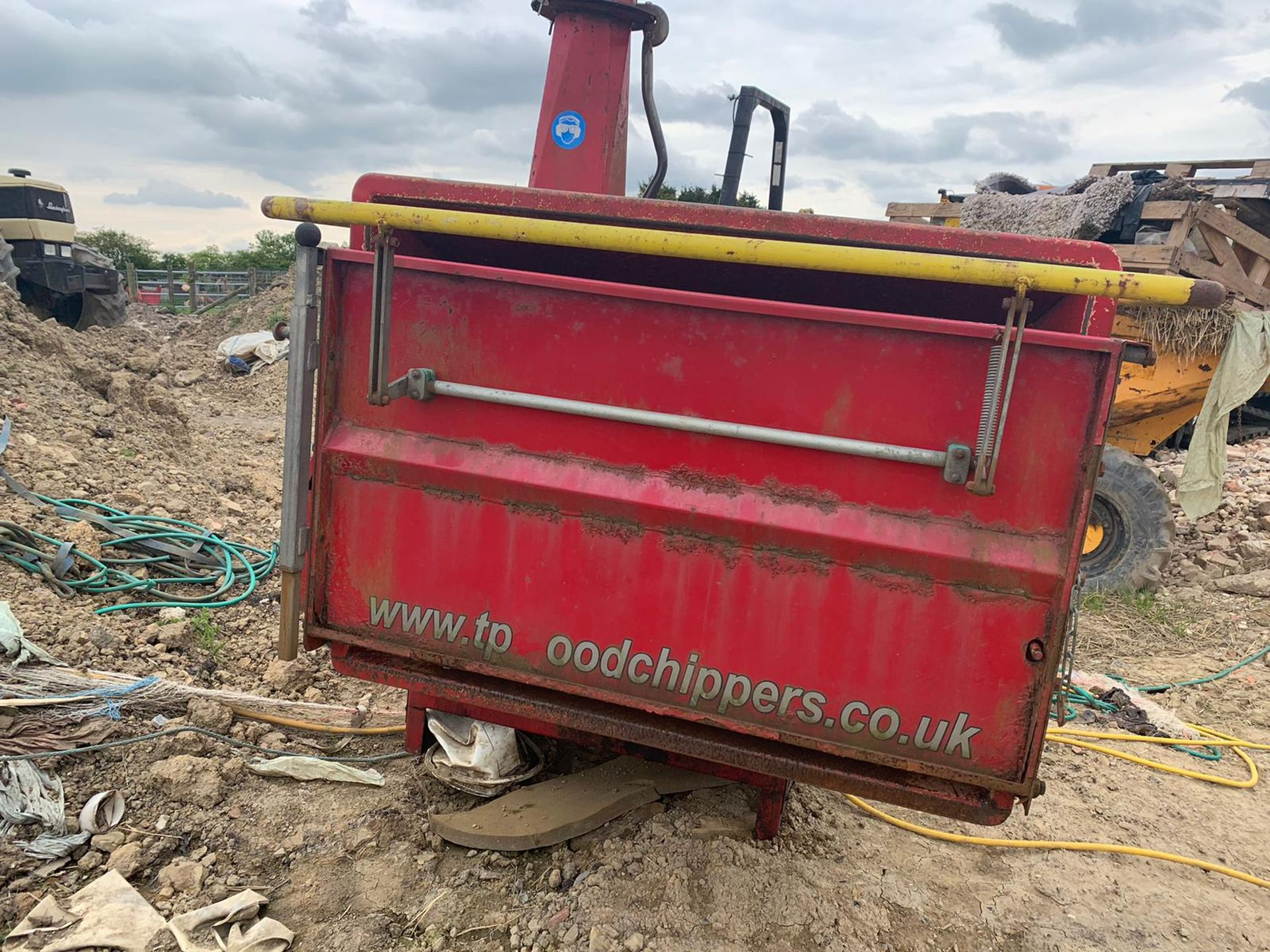 2007 TP 250 PTO WOOD CHIPPER WITH HYDRAULIC INFEED *PLUS VAT* - Image 5 of 9
