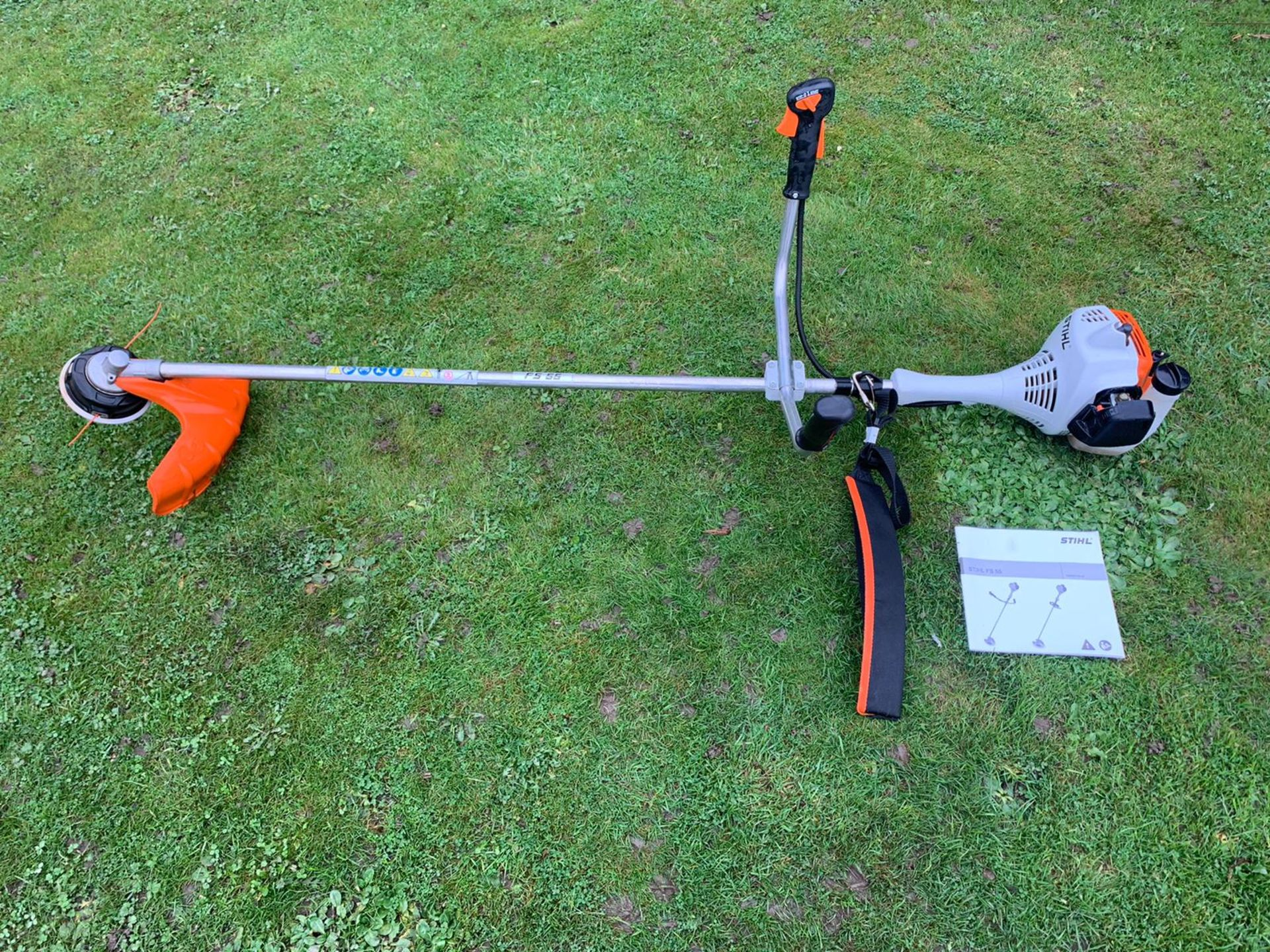 Brand New And Unused, Stihl FS55 Strimmer With Bike Handle, C/W Manual *NO VAT*
