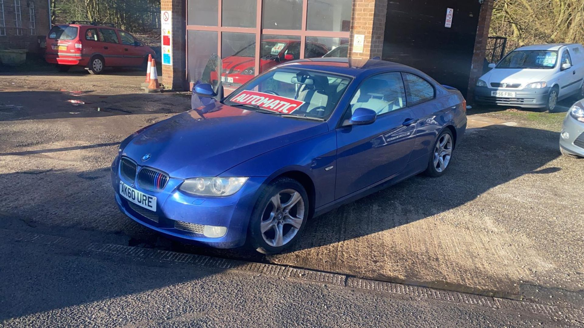 2010/60 REG BMW 320D SE AUTOMATIC 2.0 DIESEL BLUE COUPE 180 BHP *NO VAT*