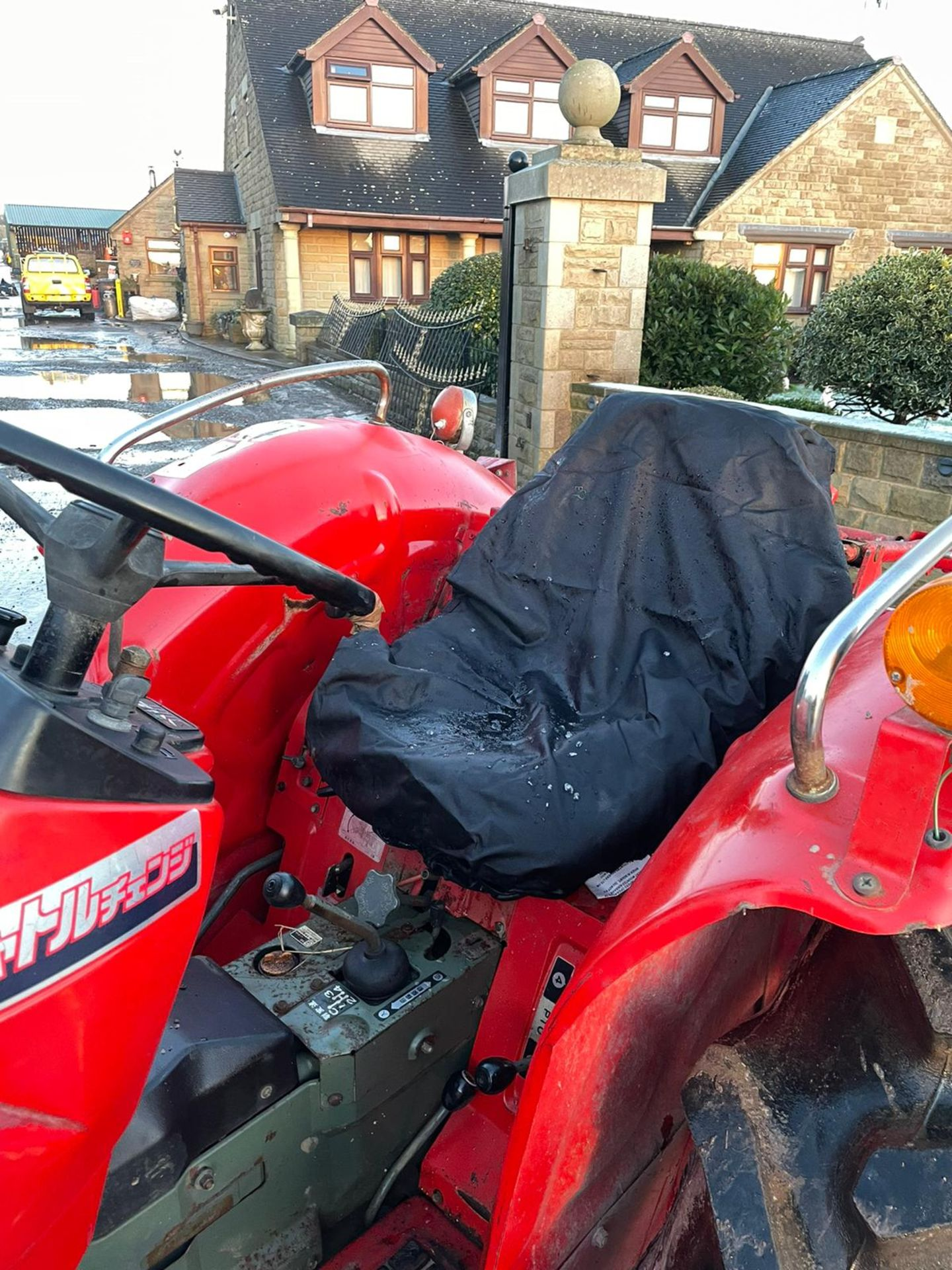 YANMAR YM2820D TRACTOR, 4 WHEEL DRIVE, WITH ROTATOR, RUNS AND WORKS, 3 POINT LINKAGE *PLUS VAT* - Image 4 of 8