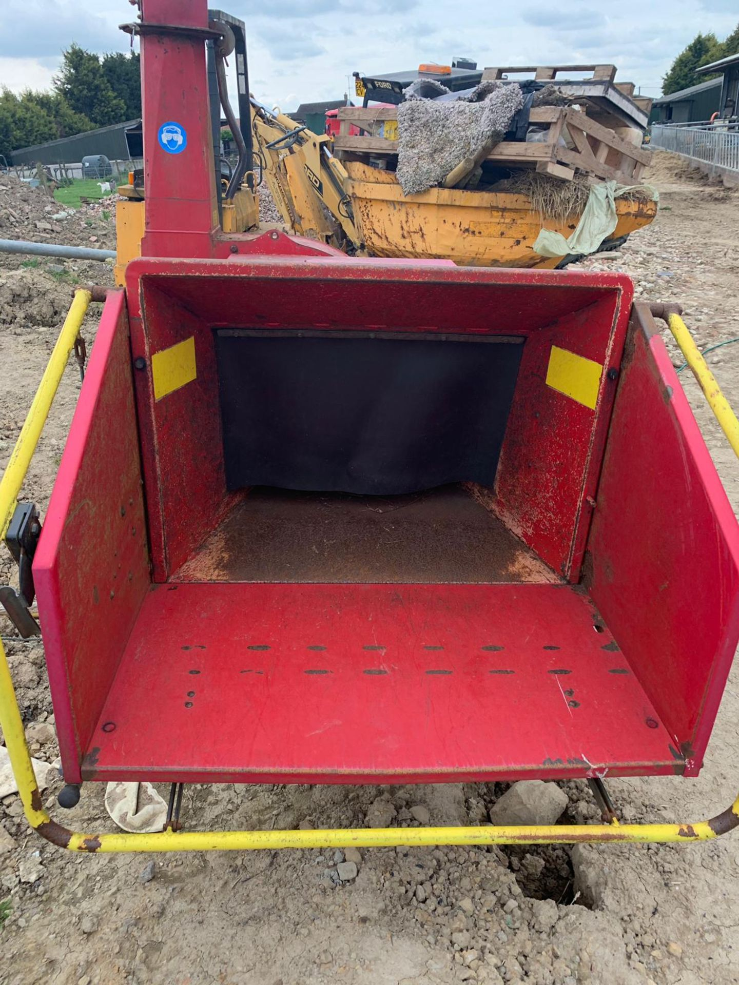 2007 TP 250 PTO WOOD CHIPPER WITH HYDRAULIC INFEED *PLUS VAT* - Image 6 of 9