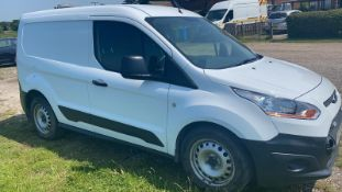 2016/16 REG FORD TRANSIT CONNECT 200 ECONETIC 1.5 DIESEL VAN, SHOWING 0 FORMER KEEPERS *NO VAT*