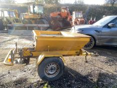 TOW BEHIND GRITTER IN WORKING ORDER *PLUS VAT*