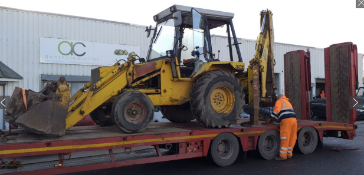JCB 3 CX SITEMASTER EXTRA DIG - GOOD WORKING MACHINE WITH 3 BUCKETS INC RIDDLE BUCKET