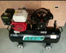 New Industrial Petrol powered air compressor Unleaded petrol 100Lair compressor Tank: 50L