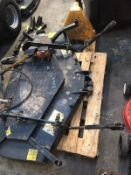 CUTTING DECK TO FIT RANSOMES / JACOBSEN MOWER, 3 X BLADES, PTO DRIVEN, SEE PICS FOR SIZES