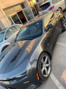 2017 Chevrolet comaro 6.2 V8 25,000km grey with red and black interior plus vat with Nova PLUS VAT