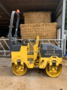 BOMAG BW 80 ADH-2 TWIN DRUM RIDE ON ROLLER *PLUS VAT*