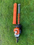 2018 STIHL HS82RC HEDGE CUTTER, RUNS AND WORKS, EX DEMO CONDITION *NO VAT*
