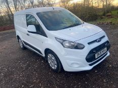 2015/15 REG FORD TRANSIT CONNECT 200 ECONETIC 1.6 DIESEL WHITE PANEL VAN, SHOWING 0 FORMER KEEPERS