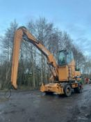 CASE WX185 WHEELED DIGGER, YEAR 2005, SELF LEVELLING, 2 SPEED TRAVEL, HIGH LOW BOX *PLUS VAT*