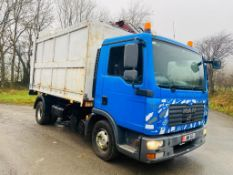 2008 MAN RECYCLING LORRY TIPPER BODY AUTO, 106,000 KMS, ONE OWNER ON ISLE OF MAN PLATES *PLUS VAT*
