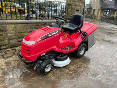 HONDA 2315 V TWIN RIDE ON MOWER, RUNS, DRIVES AND CUTS, CLEAN MACHINE *NO VAT*