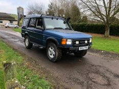 2001/51 REG LAND ROVER DISCOVERY TD5 2.5 DIESEL BLUE LIGHT 4X4 UTILITY *NO VAT*