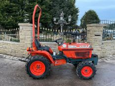 KUBOTA B1550 COMPACT TRACTOR, RUNS AND DRIVES, CLEAN MACHINE, LOW 2440 HOURS, CANOPY *NO VAT*