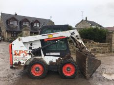 BOBCAT S550 SKID STEER LOADER, SHOWING 2261 HOURS, YEAR 2014, RUNS, DRIVES AND LIFTS *PLUS VAT*